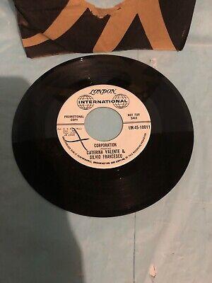 "CATERINA VALENTE & SILVIO FRANCESCO_PORT-AU PRINCE/CORPORATION_7"" VINYL 45 RPM"