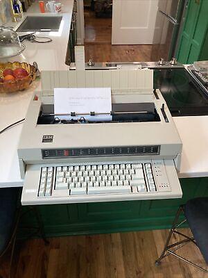 Vintage Ibm Wheelwriter 5 674x Electronic Electric Typewriter Type - Tested