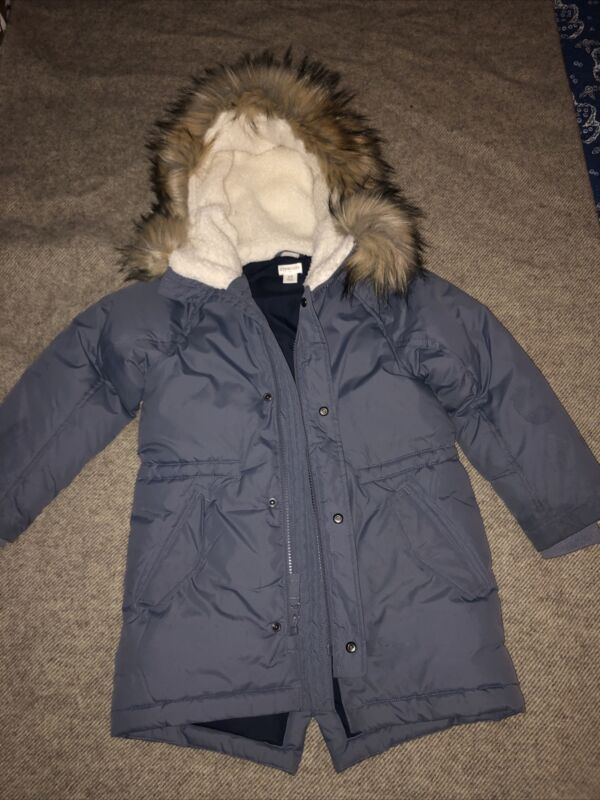 Crewcuts for kids winter coat. Size 4/5. Blue