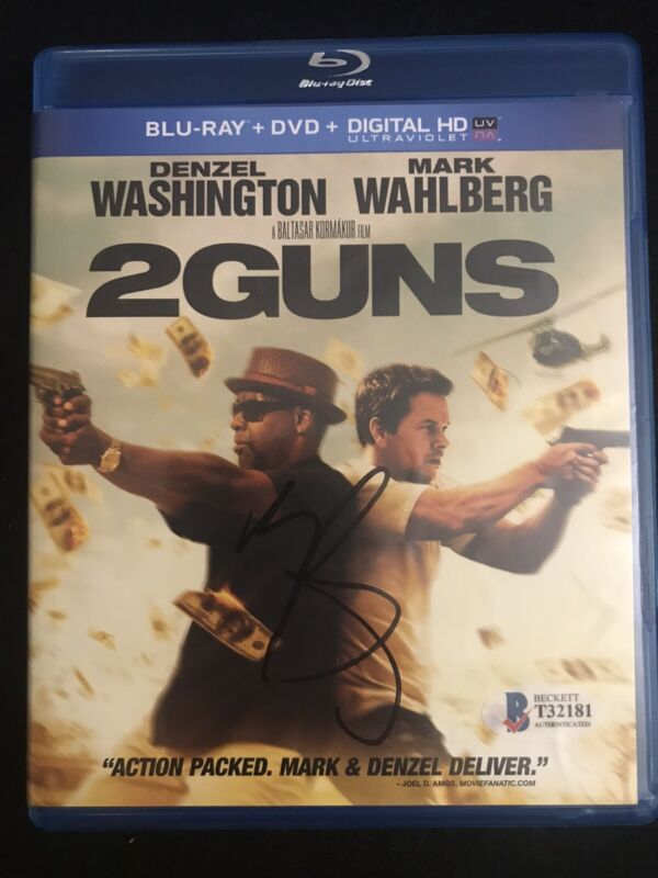 Mark Wahlberg Signed Autographed 2 Guns DVD Cover Beckett COA