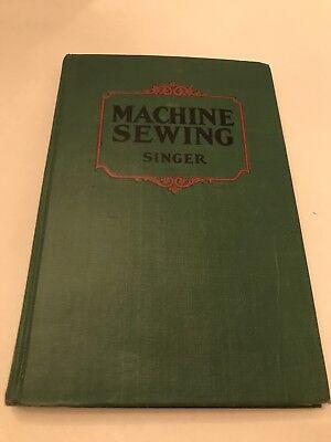 Machine Sewing Singer Vintage School Book
