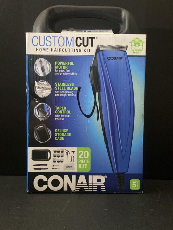 CONAIR Custom  Hair Cut  Trimming  20 Piece Kit Powerfull Motor Taber Control