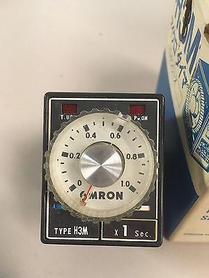 Omron H3m-us Timer 120v