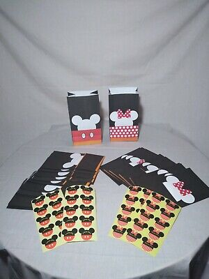 Minnie Mouse Party Themes (Mickey Mouse&Minnie Mouse themed PARTY BAGS - GOODIES AND PARTY GIFTS (30)