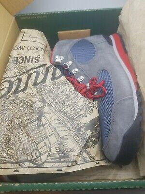 Danner Womens Jag Steel Gray/Blue Teal Waterproof Hiking Shoes Boots Sz 9.5