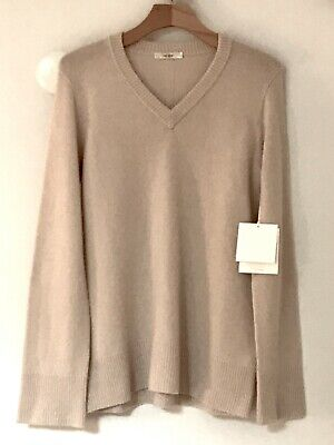 """THE ROW RUNWAY """"ELAINE"""" WOOL & CASHMERE V NECK SWEATER!"""