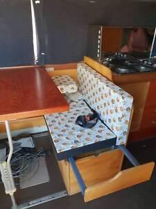 nissan civilian campervan for sale or swap sailing boat