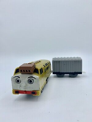 DIESEL 10 Thomas & Friends Trackmaster Motorized W/ Silver Cargo BoxCar