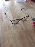 Glasses found prescription.