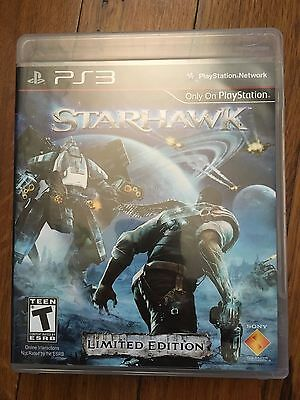 Starhawk Limited Edition (Sony PlayStation 3) Complete