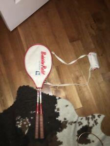 2 raquettes de Badminton avec 4 volants