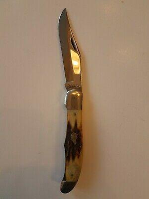 Rare Vintage KA-BAR X1/77 Dog Head Knife Union Cut. Co. Olean, N.Y.