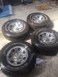 99 hilux sr5 factory wheels+kumho a/t Cabramatta Fairfield Area Preview