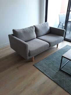 Freedom 2.5 seater grey lounge