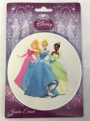 Disney Princess Jumbo Eraser 4 34 In. X 4 12 In. 9437927