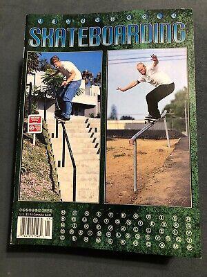 Transworld Skateboarding Magazine January 1996 Stereo Mike Frazier Vallely