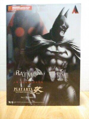 Batman Arkham City Batman No 1 Play Arts Action Figure.  New.