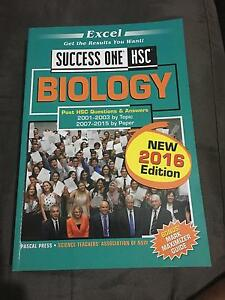 Excel success one HSC biology Adamstown Newcastle Area Preview