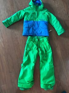 Youth size 5/6 burton snow suit