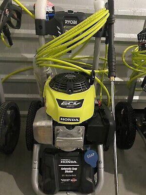 Ryobi Pressure Washer Honda Gcv160 Engine 3300 Psi Gas Powered Recoil Start