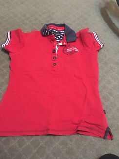 Euro star red polo size m more like s