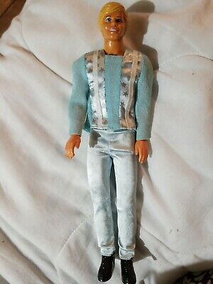 Sun Gold Malibu Ken Doll 1983 Vintage Redressed