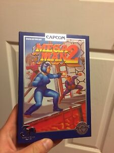 Megaman 2 and Megaman X 30th anniversary collectors items