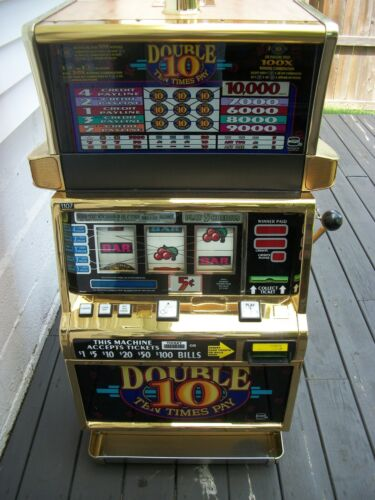IGTS2000 DOUBLE 10 TIMES PAY 5 LINE GOLD CHROME FINISH