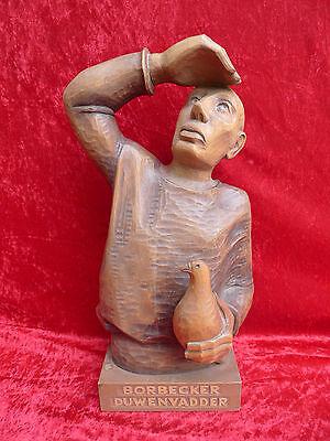 Beautiful Wooden Figure__Borbecker Duwenvadder Pigeon Fancier__Personalised__