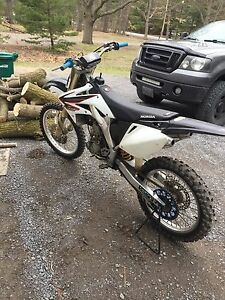 2006 Crf250r fully rebuilt