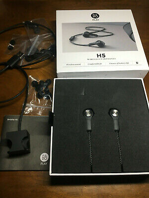 Audiophile Bang & Olufsen Beoplay H5 Wireless Bluetooth Earbuds - Black