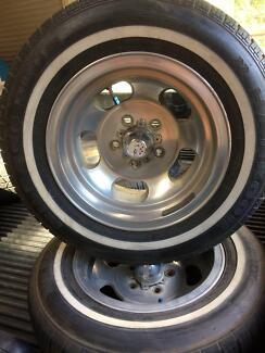 Ford US INDY mag wheels and tyres