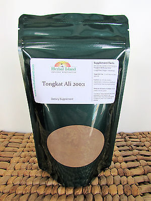 100 Grams Tongkat Ali 200:1 Root Extract from Indonesia (Pasak bumi) Longjack