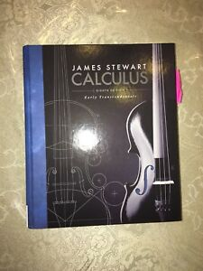 James Stewart Calculus Early Transcendentals Textbook