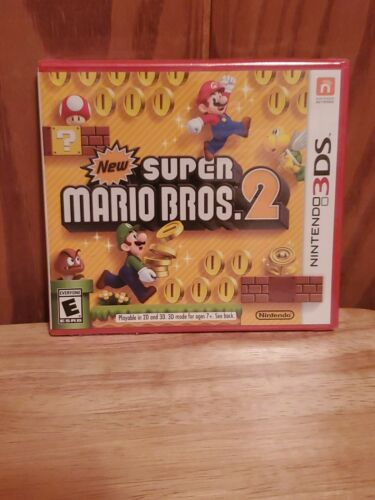 Brand New Factory Sealed. New Super Mario Bros 2 Nintendo 3ds Game - $30.00