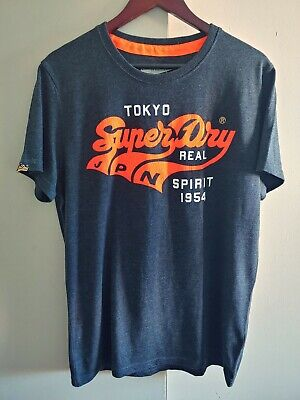 Superdry Mens Limited Edition T-shirt Tokyo Japan XXL $450 Must Have SHIPS FAST!