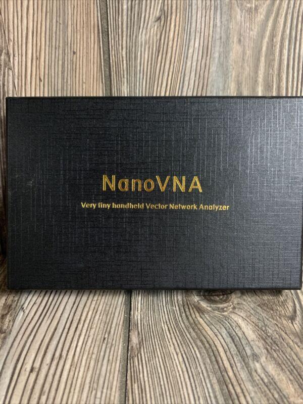 NanoVNA-H Very Tiny Handheld Vector Network Analyzer