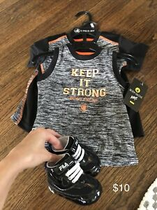 Baby boy athletic outfit