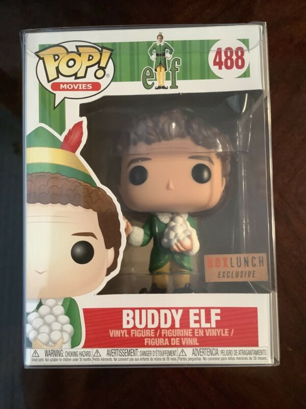 FUNKO POP BUDDY ELF 484 FIGURE 9 CM WILL FERRELL UN ELFO DI NOME BUDDY CINEMA #1
