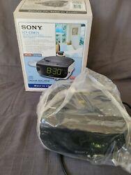 Sony Dream- Machine FM/AM CD Dual Alarm Clock Radio ICF-CD815 Tested