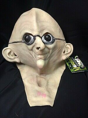 Morbid Industries Latex Halloween Dr. Nefarious Mask Horror Cosplay Costume New