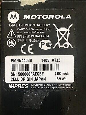 Oem Motorola Pmnn4403b 2150mah Battery Apx7000