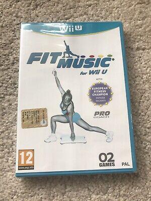 Fit Music - Nintendo Wii U (PAL) - Sealed Mint