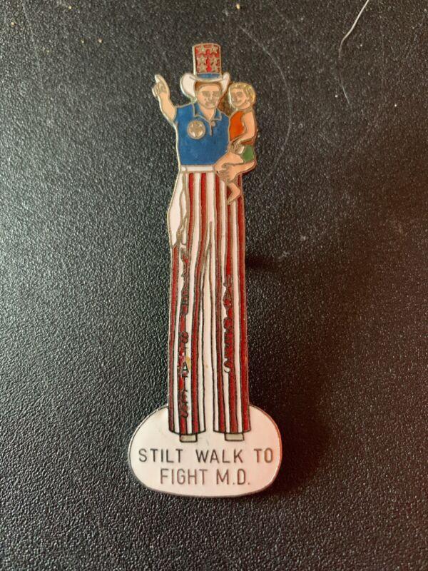 United States Jaycees Stilt Walk To Fight M.D.