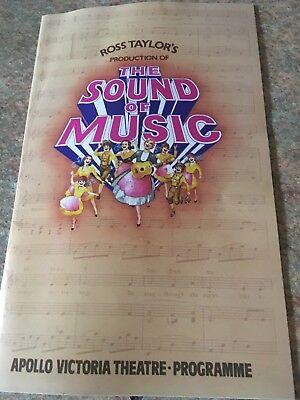 THE SOUND OF MUSIC From The Apollo Victoria Theatre 1981 Programme