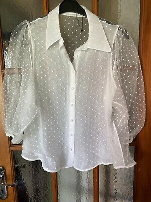 Zara Ladies Blouse Size L  UK 16