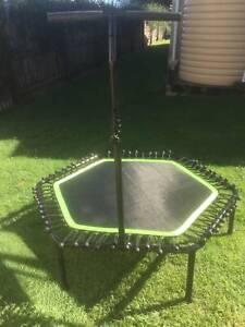Hexagon Fitness Trampoline