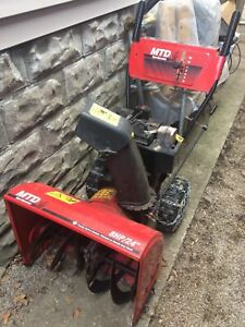 "MTD 8HP/24"" snowblower"
