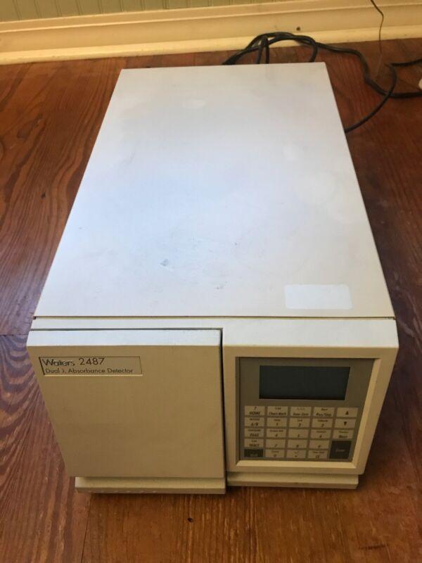 Waters 2487 Dual Absorbance Detector WAT081110 HPLC UV/VIS Laboratory
