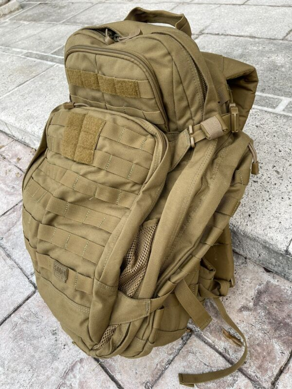 5.11 Rush 72 Tactical Backpack Coyote Brown
